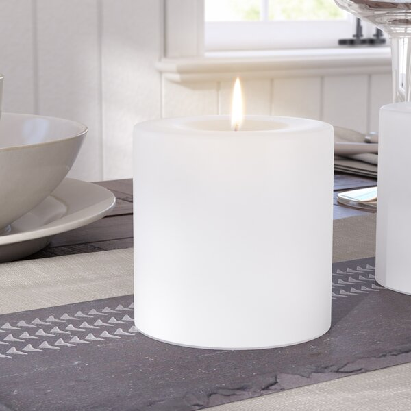 White Glitter Candles Wayfair