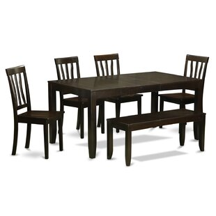 Lockmoor 6 Piece Dining Set Red Barrel Studio