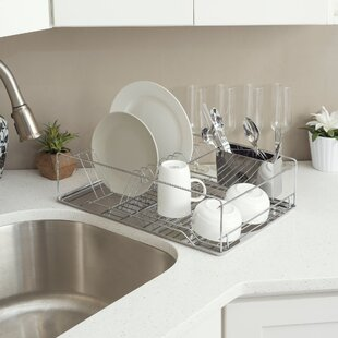 Home Basics Dish Rack Chro..