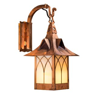 Bargain Wester LED Outdoor Wall Lantern By Millwood Pines