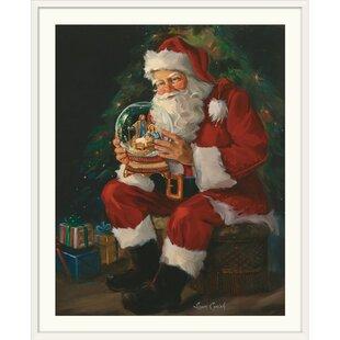 Santa Believes Painting Print