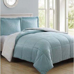 Geneva Micro Mink Reversible Comforter Set