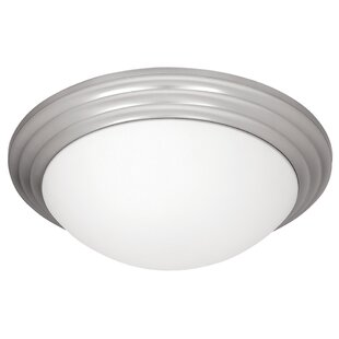 Find Cherise 1-Light Outdoor Flush Mount By Red Barrel Studio