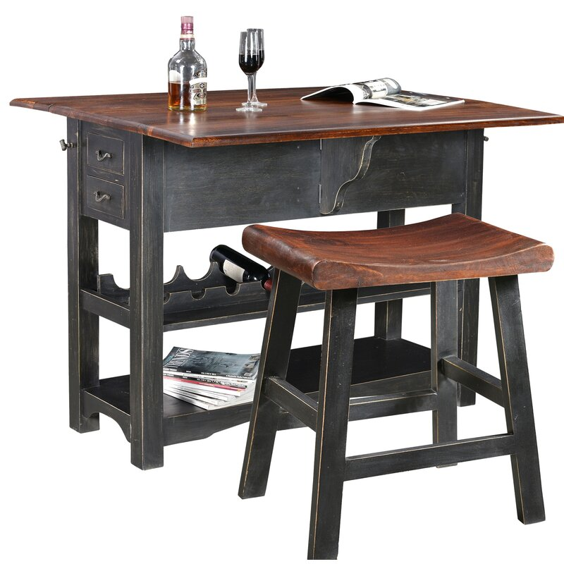 Canora Grey Sargeant Bar Set With Wine