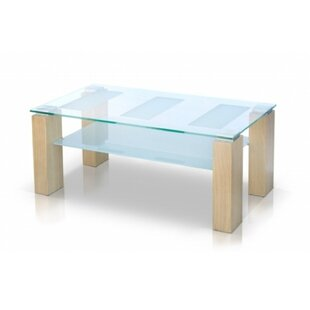 Thadine Glass Coffee Table