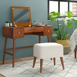 Makayla Vanity Set with Mirror by George Oliver