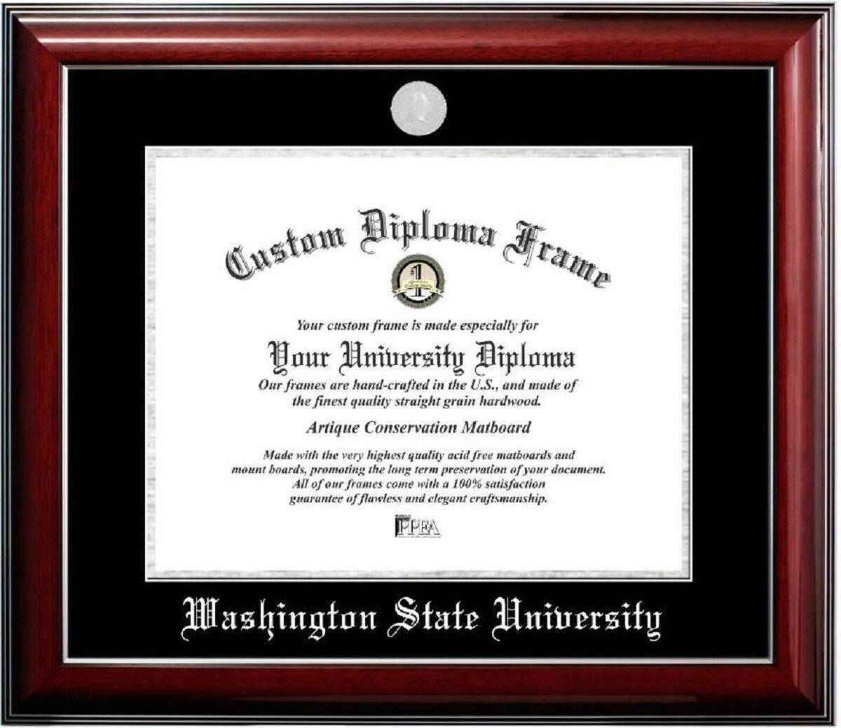 Diploma Frame Deals Washington State University Classic Picture Frame Wayfair