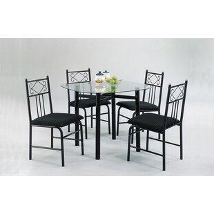 A&J Homes Studio Selina 5PC Dining Set