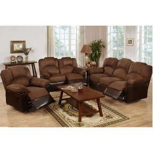 Wilson Reclining 3 Piece Living Room Set by A&J Homes Studio