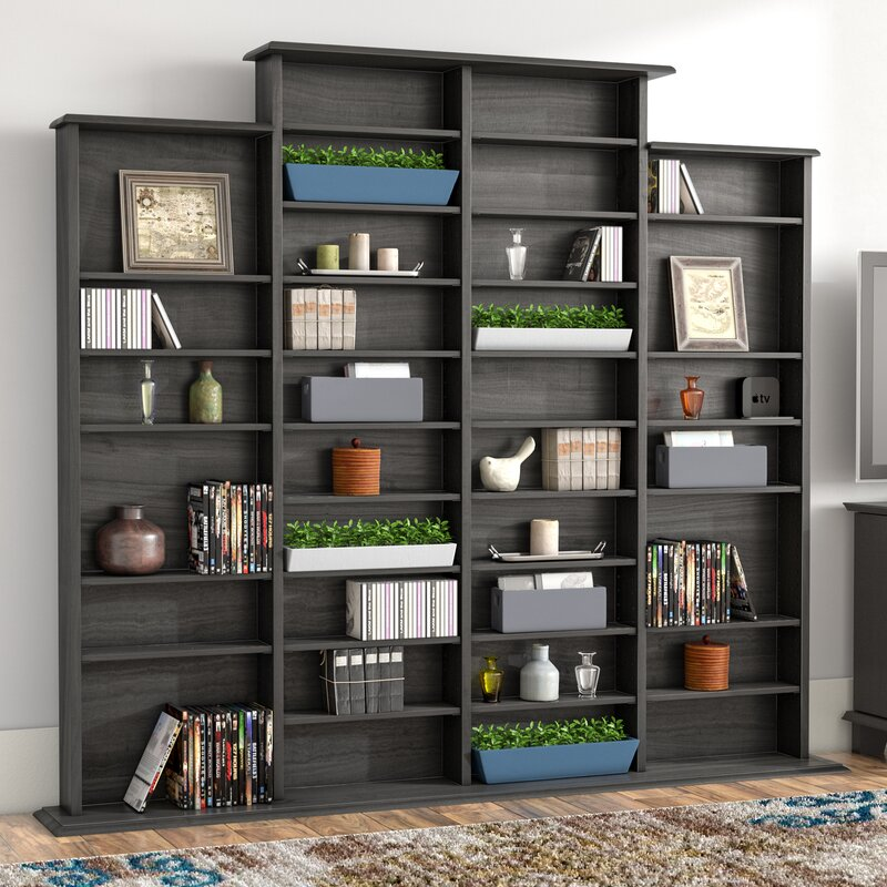 Captivating Lamb Quad Multimedia Storage Rack