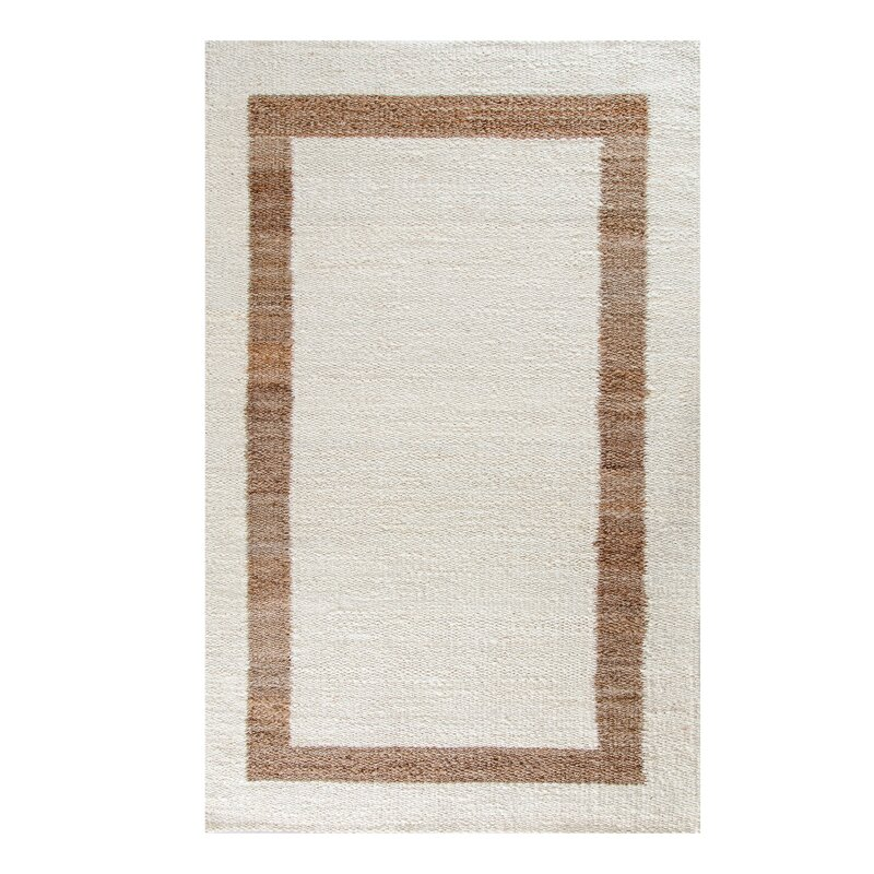 Eilerman Handmade Flatweave Jute Sisal Ivory Area Rug Allmodern