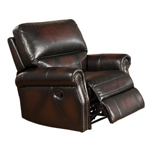 Amax Nevada Leather Manual Recliner