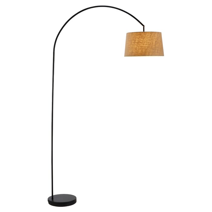 Cortez 83 arched floor lamp reviews allmodern cortez 83 arched floor lamp mozeypictures Image collections