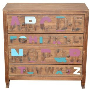 4 Drawer Dresser By Isabelle & Max