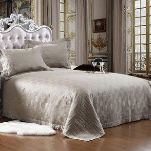 Cotton Reversible Quilt Set