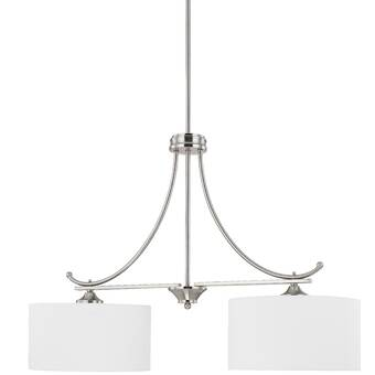 Ebern Designs Grapevine 2 Light Kitchen Island Linear Pendant Wayfair
