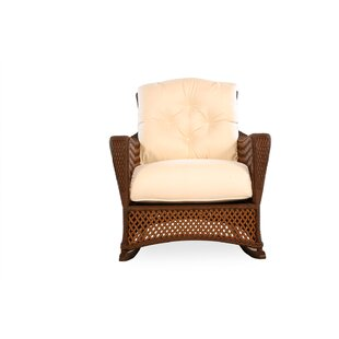 Lloyd Flanders Grand Traverse Lounge Rocking Chair with Cushions