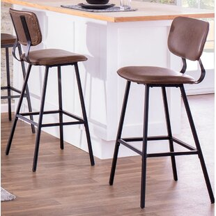 Benavidez 29.5 Bar Stool (Set of 2) by Foundry Select