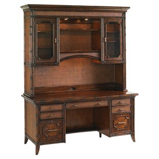 Bal Harbor Solid Wood Executive Desk