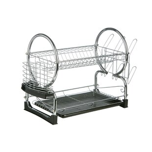 2 Tier Dish Drainer with Tray I by All Home