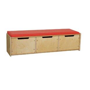 Wood Designs Wood Storage Bench