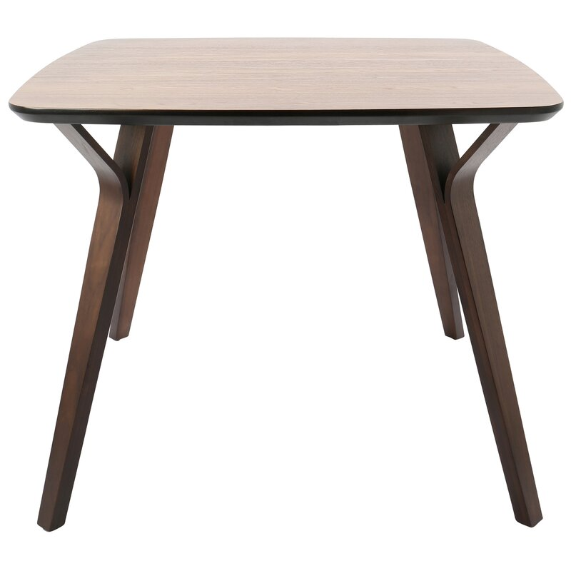 Union Rustic Thornton MidCentury Modern Dining Table Reviews - Mid century round dining table with leaf