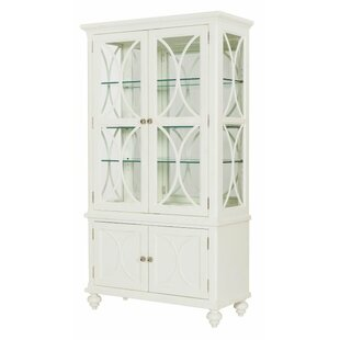 Cay Lighted Curio Cabinet