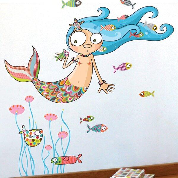 Harriet Bee The Mermaid Wall Decal