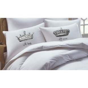 2 Piece King/ Queen Pillowcase Set