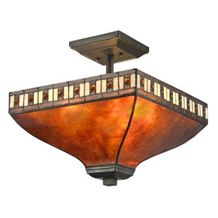 Astoria Grand Luellen 3-Light Semi Flush Mount