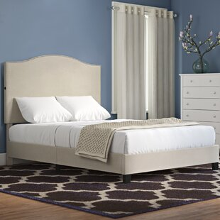 Bargain Bulpitt Camel Back Queen Upholstered Panel Bed by Charlton Home Reviews (2019) & Buyer's Guide