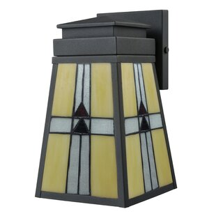 Compare Rocco 1-Light Outdoor Sconce By Loon Peak