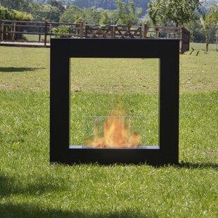 Bio-Blaze Qube Stainless Steel Bio-Ethano..