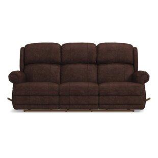 La-Z-Boy Kirkwood Reclina-Way? Full Leather Reclining Sofa