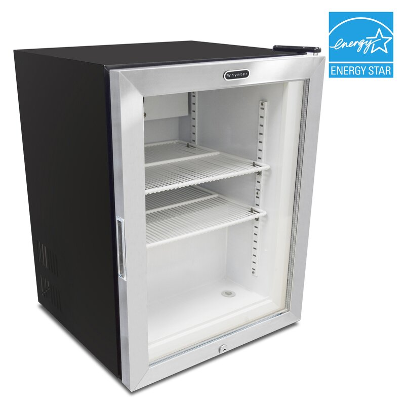 Whynter Display Glass Door 18 Cu Ft Upright Freezer Wayfair