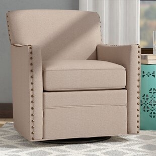 Latitude Run Denker Swivel Armchair