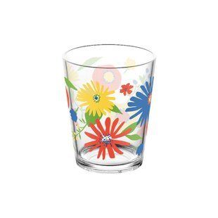 Midsummer Floral 473ml Plastic Drinking Glass (Set Of 4) By Tar Hong
