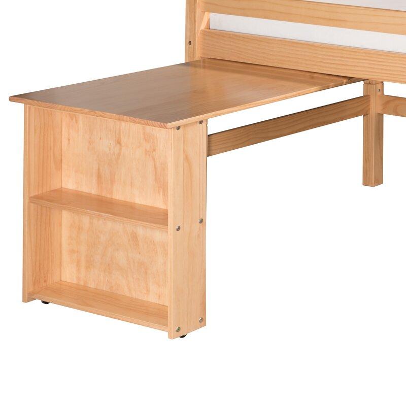 Superieur Isabelle Low Loft Bed Retractable Desk