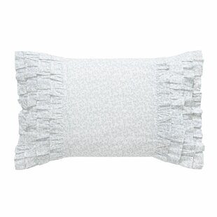 Chloe Ruffled Cotton Throw Pillow