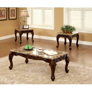 Lineberger 3 Piece Coffee Table Set by Astoria Grand