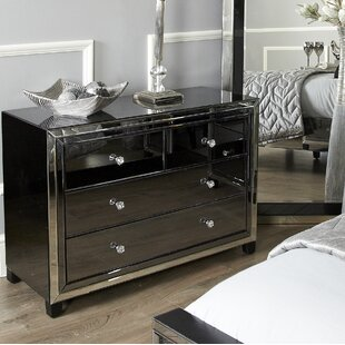 Mirrored Chest of Drawers You\'ll Love | Wayfair.co.uk