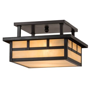 Bloomsbury Market Almont 2-Light Semi Flush Mount