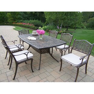 Oakland Living Oxford Mississippi Dining Set with Cushions