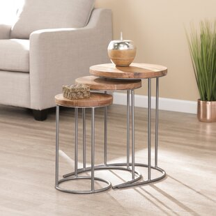 Affordable Sorensen 3 Piece Nesting Tables By Union Rustic