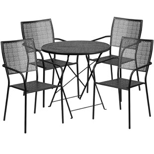 Abe 5 Piece Dining Set by Zipcode Design