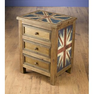 Kinzie 3 Drawer Chest by World..