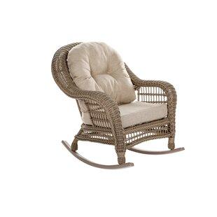 Demmer Outdoor Garden Rocking Chair by Highland Dunes
