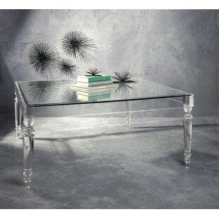 Nakasa Devaro Acrylic and Glass Coffee Table