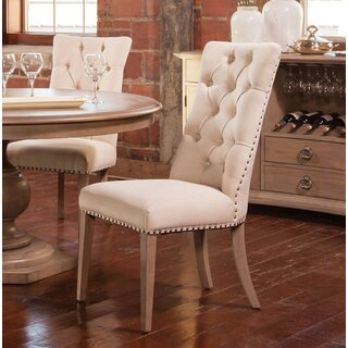 Alameda Upholstered Dining Chair (Set of 2) by One Allium Way SKU:DC970584 Information