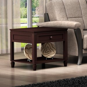 Traditional End Table by Furnitech